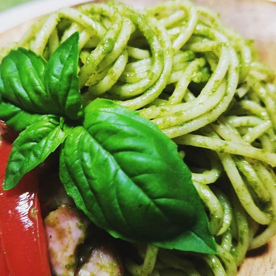 Basil Close-up Food Green Color Freshness Albahaca Genovese