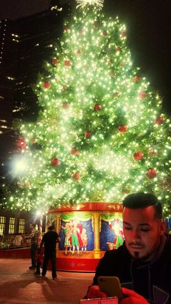 What u want for xmas little boi lol Christmas Tree Downtown Fort Worth Gaymen Enjoying Life