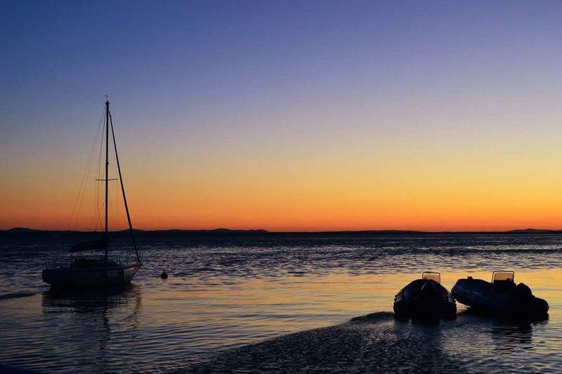 Sunset Beauty In Nature Water Lago Trasimeno First Eyeem Photo