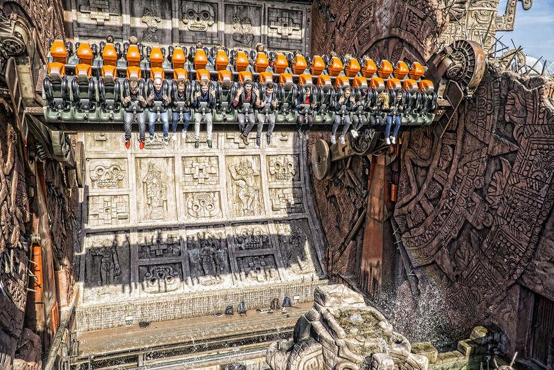 Phantasialand Amusement Parks Cultures Freizeitpark Hdrphotography History Ornate Outdoors Phantasialand Pretpark Spirituality Temple Temple - Building Tourism