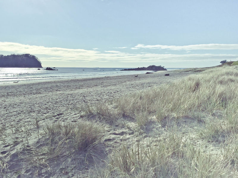 Bay Of Plenty Region Beach Beauty In Nature Day Horizon Over Water Mount Maunganui Nature New Zealand No People Outdoors Sand Scenics Sea Sky Tranquil Scene Tranquility Water