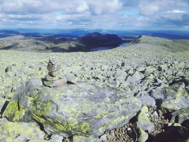 Gaustatoppen, Norway Gaustatoppen Mountain Hiking Norway🇳🇴 Norwegen Norway Nature Norway Green Color Lake View Taking Photos Scandinavia Skandinavian Skandinavian Nature Skandinavia Skandinavien Telemark Cairn Cairns Steinmännchen Cairns Tourism Bright Colors Steinhaufen Bright Authentic Moments