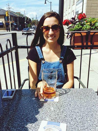 Patio Enjoying Life Beer 👌