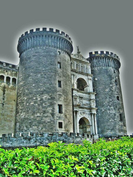 Naples Angioino Travel Photography Architecture