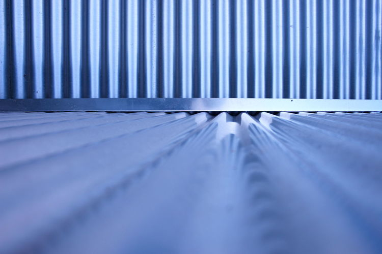 Close-Up Of Corrugated Iron