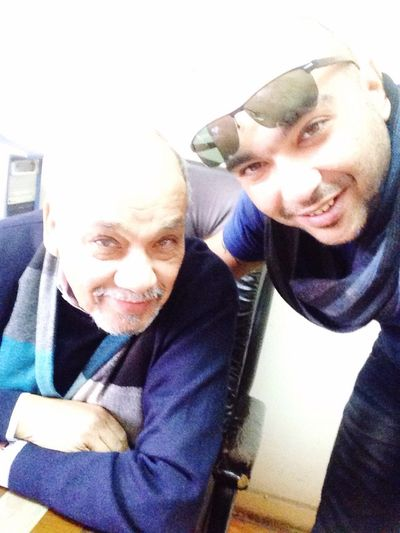 Cairo Egypt Without Filters Front Camera Me and Dad .. Love you Dad