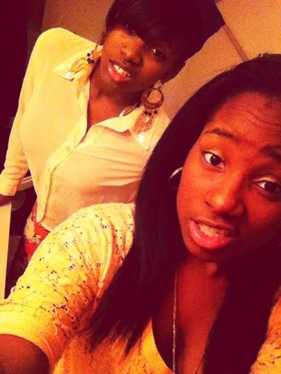 Me &' Shacara . This is my BESTfriend . We first cousins but act like sisters . If I need anything she will always be right there . We been through hell &' back but this my R.O.D ❤❤❤