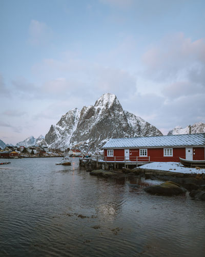 let's move in! Check out my prints at https://simonmigaj.com/shop/ and visit my IG http://www.instagram.com/simonmigaj for more inspirational photography from around the world. Reine Lofoten Lofoten Islands Norway Norge Mountains Dusk Reflection Nature Travel Extreme Weather Blue Calm Water Nautical Vessel Mountain Snow Sea Snowcapped Mountain Sky Architecture Mountain Range Stilt House Stilt Thatched Roof Hut Polar Climate Snowcapped Snow Covered Mountain Peak