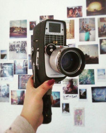 El regalo de la abu 💞👌🎥😆 Super8 Camera Oldies Loveit AbuTeAmo Flim Super8mm