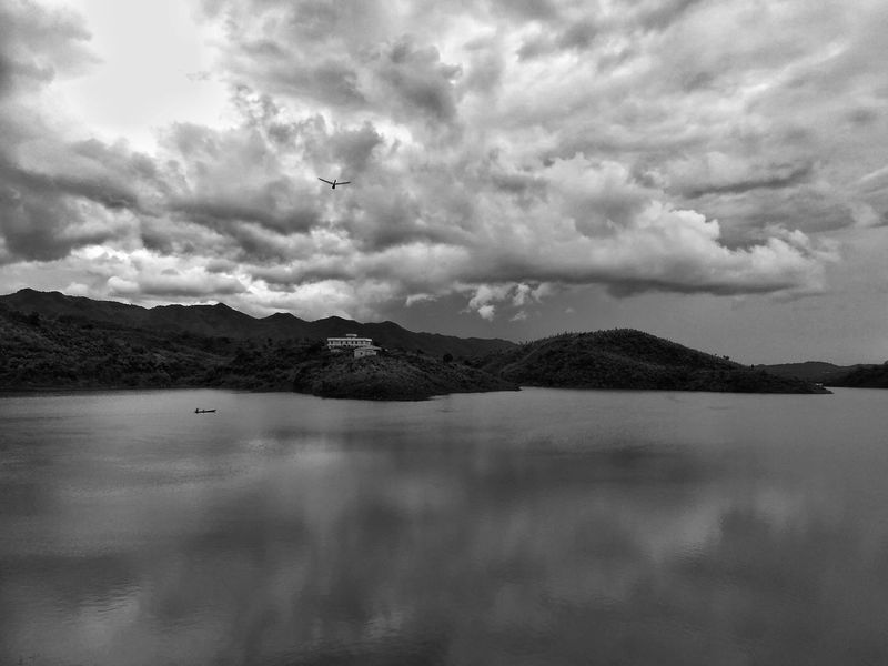 Scenery Landscape Lake Mountain Water Outdoors Scenic View India Recreation Area Recreational Area Tourist Attraction  Tourist Destination Northeastindia Southasia Reservoir Dam Artificial Lake Nature Nature Photography EyeEm Selects EyeEm Nature Collection Water Reflections Monochrome Black And White Black & White Black And White Friday