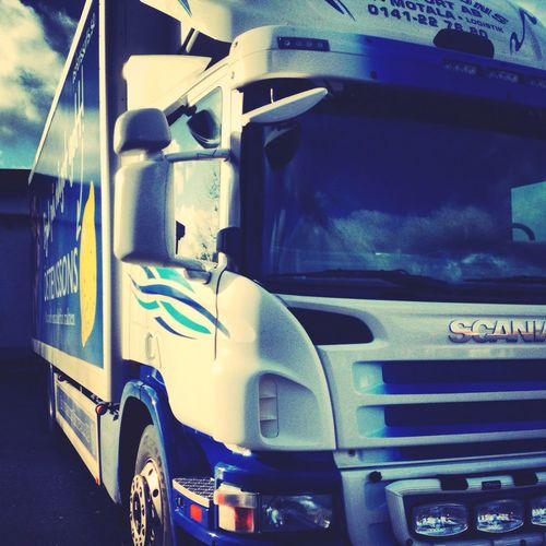 Emanuelssons Transport Lastbil övningskör
