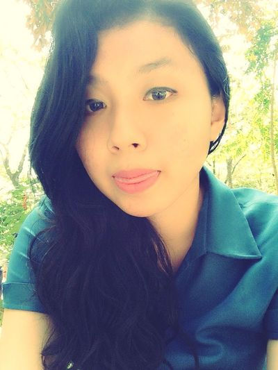 :P Today's Hot Look Smile Beauty Self Portrait Asian  La Salle Practice Teacher