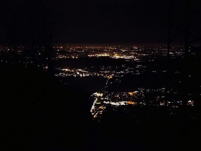 Illuminated Cityscape Night Sky No People Lights Light In The Darkness City Lights City View  Landscape Welcome To Black