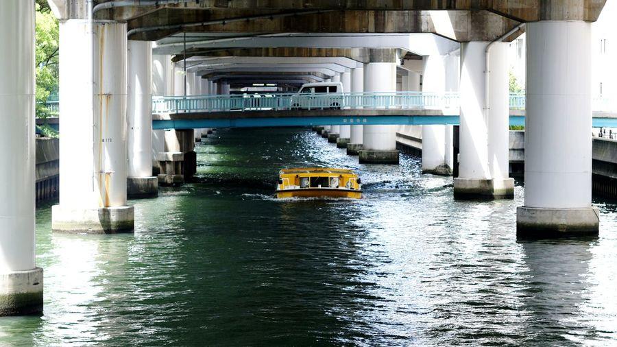 Architecture Water Day Osaka-shi,Japan Elmar 9cm F4 Nex5 Ernst Leitz GmbH Wetzlar Elmar 9cm F4 Cityscape City Street City Street