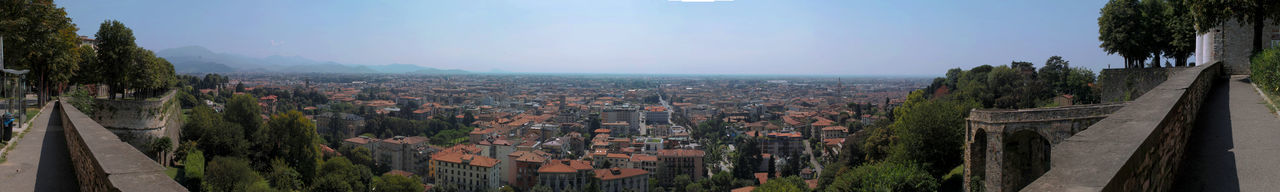 PANORAMIC SHOT OF TOWNSCAPE