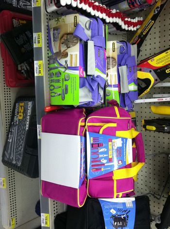 So I Guess It Come In Pink & Purple So Guys Dont Touch Your Tools.