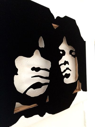 Keithrichards Mickjagger Art, Drawing, Creativity DIY Silhouette