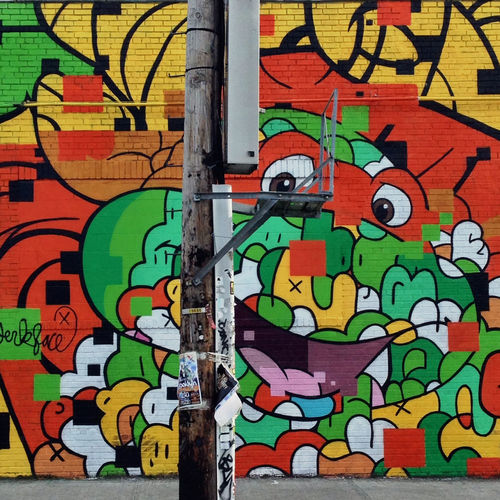 Bushwickcollective Brooklyn Street Art Graffiti Art Ninja Turtles Michelangelo