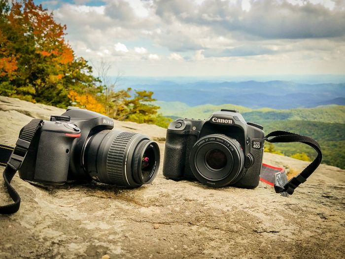Photography Themes Camera - Photographic Equipment Lens - Optical Instrument Lens - Eye Cloud - Sky Modern Optical Instrument No People Outdoors Sky SLR Camera Digital Camera City Tree Nature Close-up Digital Single-lens Reflex Camera Day Mountains Beacon Heights Stone DSLR Travel Scenics Fall Beauty