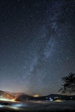 Milkyway Milkywaygalaxy Sea Cloud Sky Clouds Sea Starry Starry Night