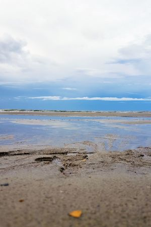 Blue Color Breathing Space Cloudscape Beach Beauty In Nature Blue Blue Sky Cloud - Sky Coast Day Horizon Over Water Nature No People Ocean Outdoors Reflections Sand Sand & Sea Scenics Sea Sky Tide Tranquil Scene Tranquility Water The Week On EyeEm Lost In The Landscape Perspectives On Nature
