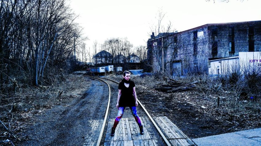 Note3 Railroad Wilkesbarre Model Urban Taking Photos Check This Out Eye4photography  Portrait Of A Woman Woman Beautiful Urban Exploring