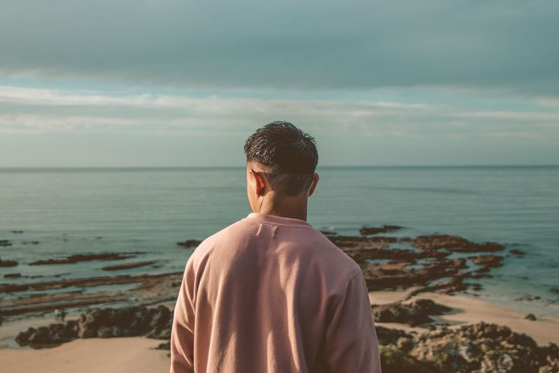 dont mind Pink Pinksweater Water Sea Beach Human Back Back Rear View Sand Sky Horizon Over Water Close-up Wonderlust Coastline Rocky Coastline Coastal Feature Bay Sandy Beach Coast Ocean Calm Loch  Wave Rushing Shore Surf Surfer Surfboard Tide Hiker Summer Road Tripping The Street Photographer - 2018 EyeEm Awards The Traveler - 2018 EyeEm Awards The Photojournalist - 2018 EyeEm Awards The Portraitist - 2018 EyeEm Awards The Great Outdoors - 2018 EyeEm Awards The Fashion Photographer - 2018 EyeEm Awards