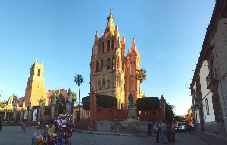 The Great Outdoors With Adobe Church San Miguel De Allende Guanajuato, México