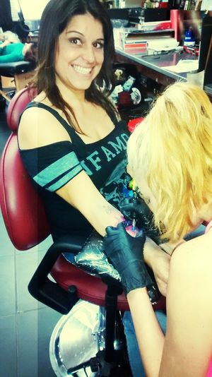 Getting My Birthday Ink! Inked Beauty Art4life Smiles Imturning40