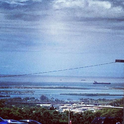 Honolulu  Redhill SaltLake TripleR view scenery beach submarines navy navalships hawaii oahu landscape