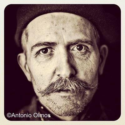 Billy Childish, Artist/Musician, photographed by Antonio Olmos