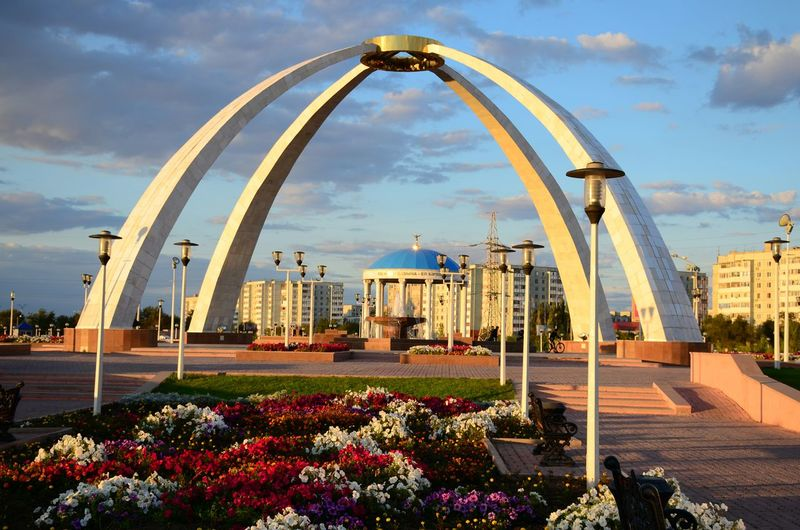 Building Buildings Architecture City Aktobe
