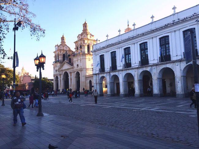 Córdoba colonial en invierno Cabildo Cabildo Museum Cathedral Córdoba Catedral Catedrales Centrohistorico Centro Historico Downtown