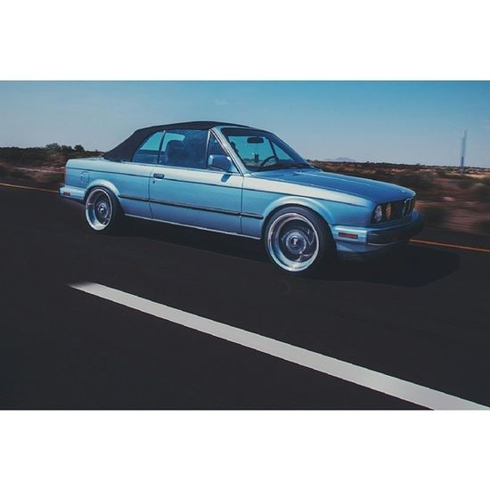 To win the lottery, you have to make the money to buy a ticket. E30  Coup Skyblue I10 Rollin Lowlife Motionblur Speed Bmw German Highway BayerischeMotorenWerke Automotive M3clone 3series Convertible Classic Roadtrip