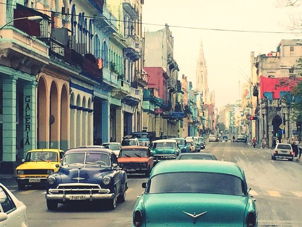 On The Road Cuba Charming Time Machine Past Vintage Cars Seeing The Sights Showcase: November