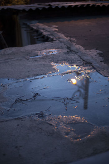 Reflection Close-up Day Desolate Nature No People Outdoors Puddle Street Reflections Streetphotography Water