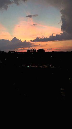 Sunset Sky Pink Color Likeforlike Like4like Follow Follow4follow Followme Clouds And Sky City Life