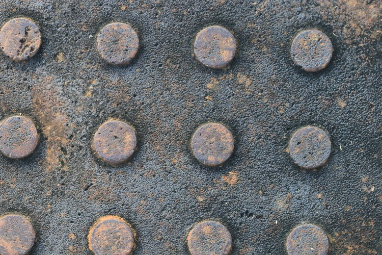 Close up the rust on manhole cover steel Rust Classic Light Objects Textures Art Background Black Brown Close-up Day Daylight Detail Full Frame Manhole Cover Steel No People Old Outdoor Outdoors Rust Background Rusty Texture Vintage Weathered