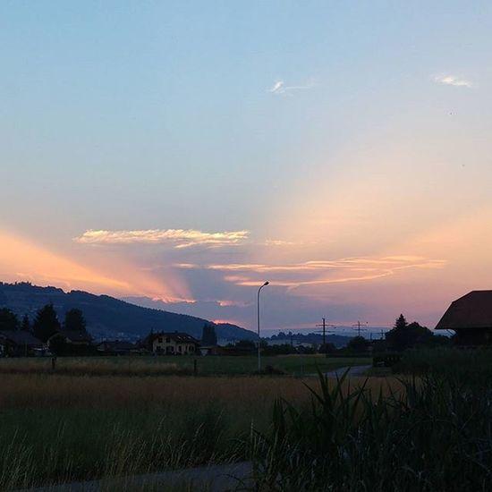 Sunset Belp