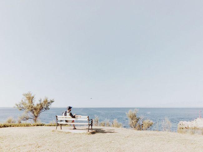 Another chillout spot @ Veli Losinj, Croatia, 2016. Veli Lošinj Croatia Landscape Chillout Spot Chillout Spot Relaxation Sea Seaside Seascape Adriatic Sea Mediterranean  Friend Serenity Peaceful