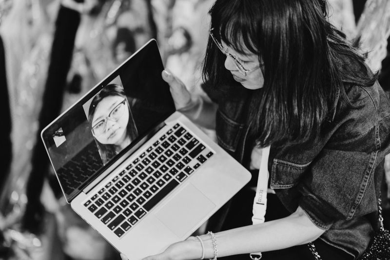 One Person Communication Technology Laptop Computer Real People The Street Photographer - 2018 EyeEm Awards