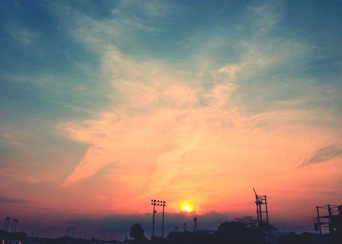 今日の西側 今日の西側 Sunset Photography