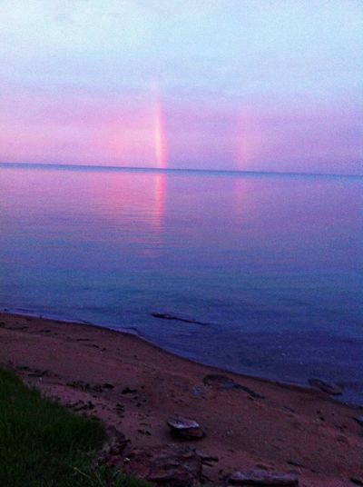All I was able to catch of this fleeting but beautiful rainbow Pei HelloBeautifulWorld ?