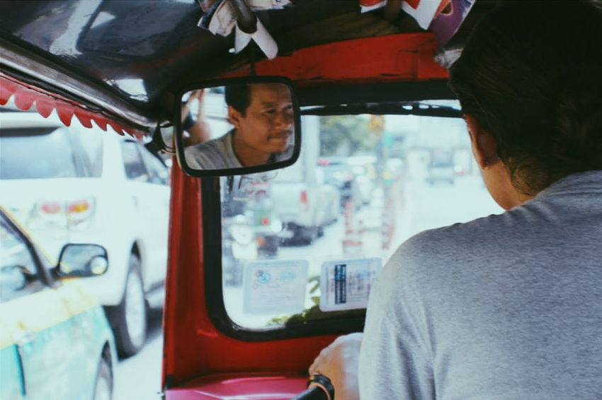 The face. Thailand Bangkok TukTuk Traveling Landofsmiles Taking Photos Hi! People