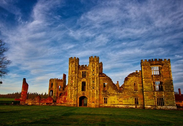 Ancient Architecture Building Exterior Cloud - Sky Cowdray Ruins Day Grass History Medieval No People Outdoors Sky Travel Destinations
