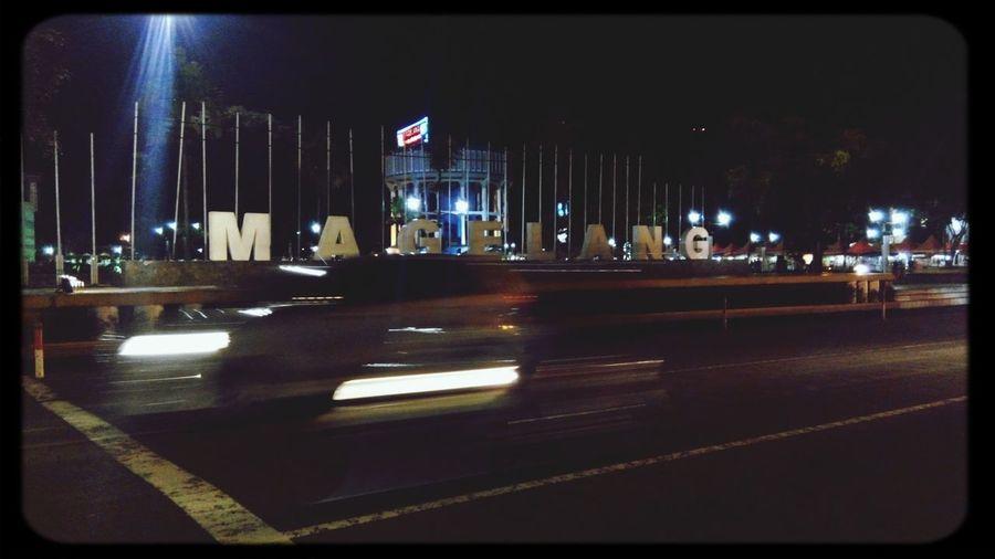 City Lights City Landscape Magelang