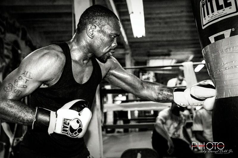 Dhafir Smith during media day. Boxing Blsckandwhite Nikon D7100 Philly PhotoByDC.