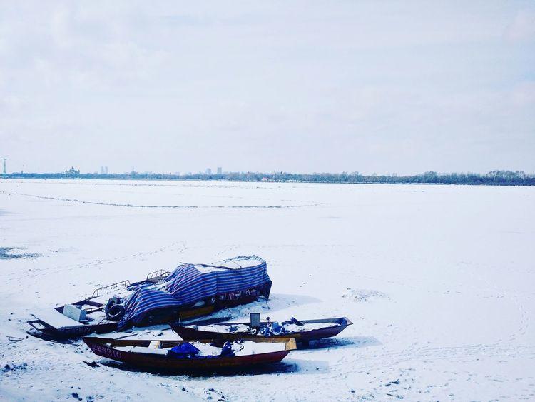 中国 哈尔滨 松花江 冰 Skyporn 雪 Harbin China Winter Frozenriver 宁静 白