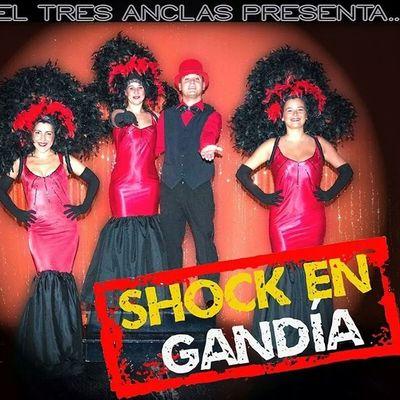 """El hotel Tres Anclas presenta """"Shock en Gandia"""" con nuestros animadores Borja, Euge, Cris y Jessy. Hotel3anclas Hoteltresanclas Gandia Gandiabeach"""