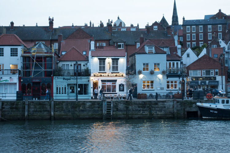 Whitby Whitby Harbour Whitby View Whitby North Yorkshire North Yorkshire North Yorkshire Coast Seaside Seaside Town Coastal Nautical Vessel Travel Destinations No People Building Water River Waterfront Building Exterior Architecture Row House Outdoors Day Sky Town House Built Structure